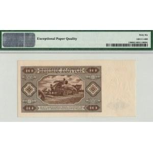 PRL, 10 złotych 1948 C - PMG 66EPQ