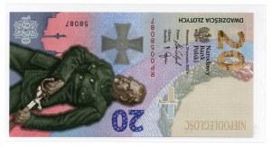 III RP, 20 złotych 2020 - Bitwa Warszawska