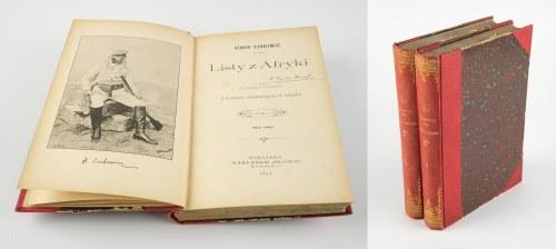 SIENKIEWICZ Henryk - Listy z Afryki [wydanie pierwsze 1893]