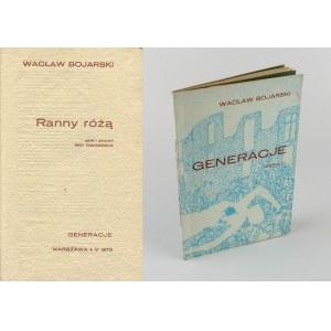 BOJARSKI Wacław - Ranny różą [Generacje 1973]