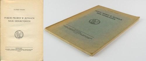 [filozofia] TARSKI Alfred - Pojęcie prawdy w językach nauk dedukcyjnych [1933]