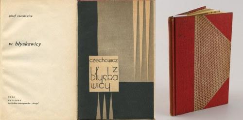 CZECHOWICZ Józef - W błyskawicy [wydanie pierwsze 1934]