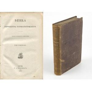 GOSZCZYŃSKI Seweryn - Dzieła [1870] [Sobótka, Zamek kaniowski, Król zamczyska]
