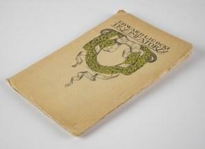 LIGOCKI Edward - Tryumfatorzy. Poezye [1920] [okł. Antoni Procajłowicz]