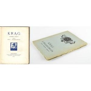 ZEGADŁOWICZ Emil - Krąg. Fragment poematu [Paryż - Kraków 1926] [drzeworyt Tadeusz Cieślewski]