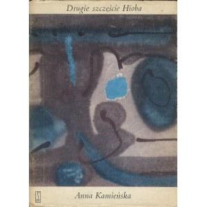 KAMIEŃSKA Anna - Drugie szczęście Hioba [wydanie pierwsze 1974] [AUTOGRAF I DEDYKACJA AUTORKI DLA JOANNA POLLAKÓWNY]