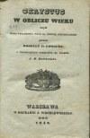 LORGUES Roselly de - Chrystus w obliczu wieku czyli nowe świadectwa nauk na obronę chrystyanizmu [1842]