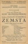 ROMER-OCHENKOWSKA Helena - XXV-lecie wskrzeszonego Teatru Polskiego w Wilnie [1932]