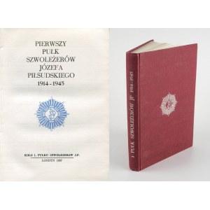 Pierwszy Pułk Szwoleżerów Józefa Piłsudskiego 1914-1945 [Londyn 1987]