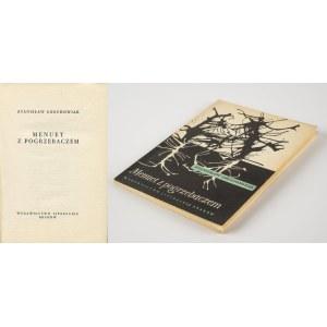 GROCHOWIAK Stanisław - Menuet z pogrzebaczem [wydanie pierwsze 1958]