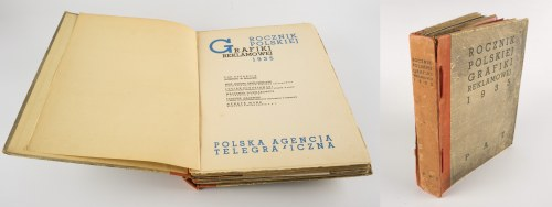 [reklama] Rocznik polskiej grafiki reklamowej 1935 [Gronowski, Berman, Wajwód, Mann]
