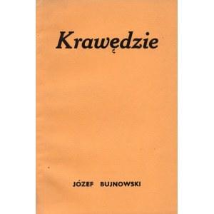 BUJNOWSKI Józef - Krawędzie [Londyn 1956]