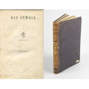 POL Wincenty - Poezyje. Wit Stwosz [wydanie pierwsze 1857]