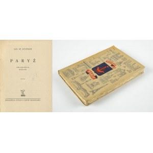 BYSTROŃ Jan St. - Paryż. Dwadzieścia wieków [1939] [obwoluta Konstanty Sopoćko]