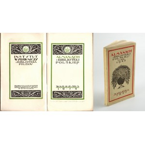 Almanach Biblioteki Polskiej 1925 [Stryjeńska, Skoczylas, Tuwim]