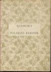 IWANOWSKI Eustachy (E. Heleniusz) - Rozmowy o Polskiej Koronie [1873]