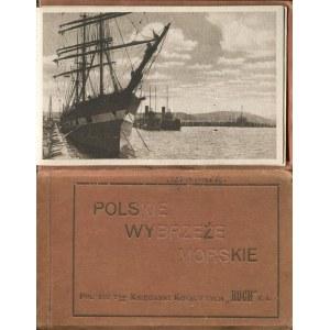 [album pocztówek] Polskie wybrzeże morskie [1920] [Gdynia, Puck, Hel, Kamienna Góra]