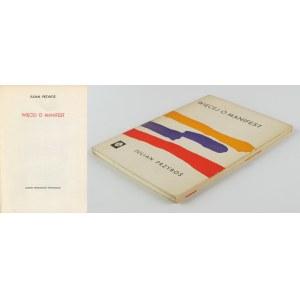 PRZYBOŚ Julian - Więcej o manifest [wydanie pierwsze 1962]