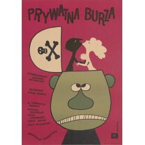 plakat BUTENKO Bohdan - Prywatna burza [1968]