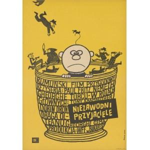 plakat BUTENKO Bohdan - Niezawodni przyjaciele [1970]