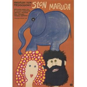 plakat BUTENKO Bohdan - Słoń Maruda [1969]
