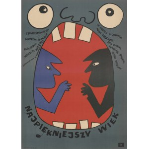plakat BUTENKO Bohdan - Najpiękniejszy wiek [1969]