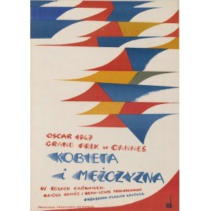 plakat BUTENKO Bohdan - Kobieta i mężczyzna [1966]