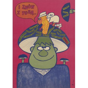plakat BUTENKO Bohdan - I znów z tobą... [1970]
