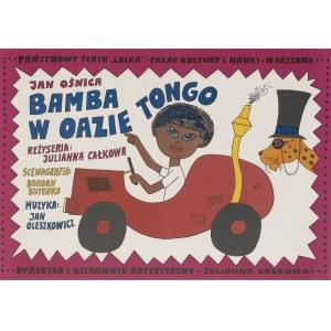 plakat BUTENKO Bohdan - Bamba w oazie Tongo [1977]