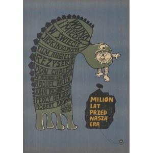 plakat BUTENKO Bohdan - Milion lat przed naszą erą [1968]