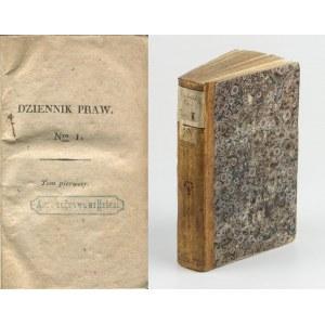 Dziennik praw. Tom 1 [1816] [Ustawa konstytucyjna Królestwa Polskiego]