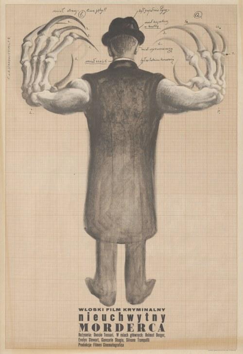 plakat STAROWIEYSKI Franciszek - Nieuchwytny morderca [1974]