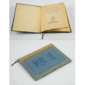 PACZKOWSKI Jerzy - Spotkanie z muzą [Nicea 1942] [Oficyna Tyszkiewicza]
