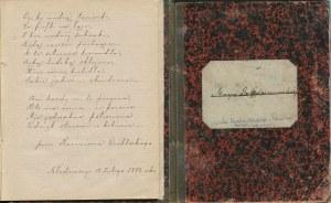 XIX-wieczny kajet z cytatami z polskiej poezji i prozy [Krasiński, Żmichowska, Kraszewski]