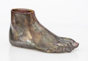 Wazon w formie stopy - Anna ZAMORSKA-MALICKA (ur. 1942)