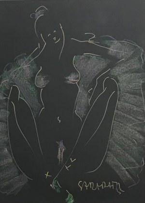 Joanna Sarapata (ur.1962r), SPRING BALLERINA, 2021