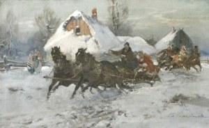 WASILEWSKI Czesław (1875 Warszawa - 1946 Łódź) - Sanna.