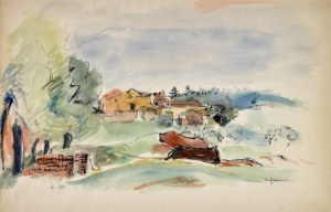 Henryk HAYDEN (1883-1970), Pejzaż, 1944