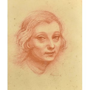 Roman KRAMSZTYK (1885 - 1942), Głowa dziewczyny