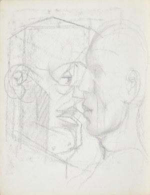 Franciszek STAROWIEYSKI (1930-2009), Kompozycja z dwoma twarzami