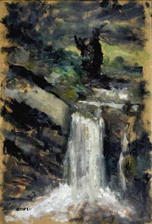 ANERI Irena Weissowa (1888-1981), Wodospad, ok. 1950