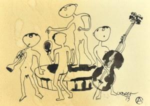 Otto AXER (1906-1983), Kwartet muzyczny, 1973