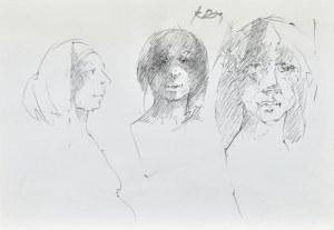 Roman BANASZEWSKI (1932-2021), Szkice kobiet