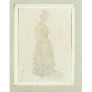 Witold PRUSZKOWSKI (1846-1896), Postać kobiety, ok. 1872