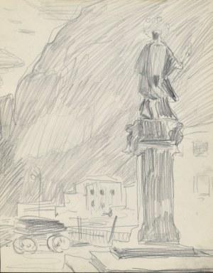 Stanisław KAMOCKI (1875-1944), Figura św. Jana Nepomucena, 1905?