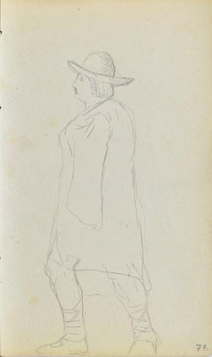 Jacek MALCZEWSKI (1854-1929), Wędrujący góral