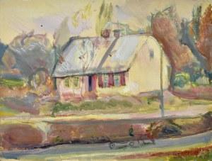 Kasper POCHWALSKI (1899-1971), Widok na dom, 1931