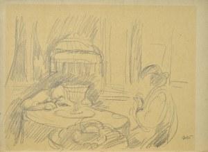 Wojciech WEISS (1875-1950), W salonie, 1916