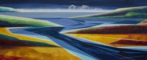 Marta Bilecka, Waterland 10-Rivers, 2016