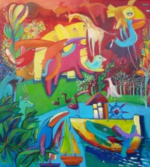 Natalia Nasada Wojtal, Wyspa kolorowa, 2021